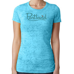 Little Bay Root Portland Burnout Tee - Women's