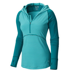 Mountain Hardwear Butterlicious Long Sleeve Hoodie - Womens