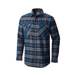 Mountain Hardwear Trekkin Flannel Long Sleeve Shirt - Mens