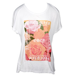 Obey Always Never Modern Shirt - Womens
