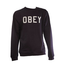 Obey Collegiate Crew Neck Fleece