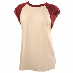 Obey Cut Off Vintage Raglan - Women