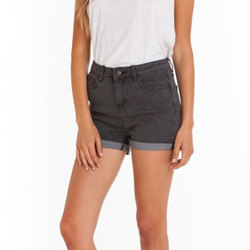 Obey Gold Rush Jean Short - Women