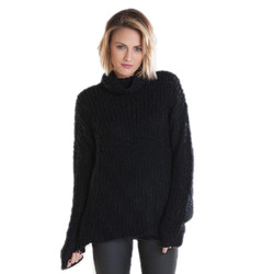 Obey Pike Funnel Neck Sweater - Women's