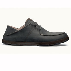 Olukai Ohana Lace Up Nubuck Shoes