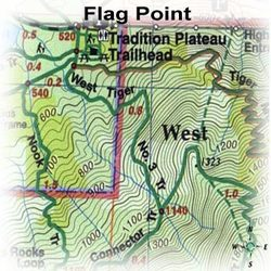 Green Trails Maps Flag Point