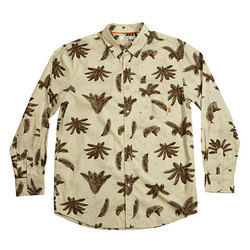 Poler Between Two Ferns Long Sleeve Button Up