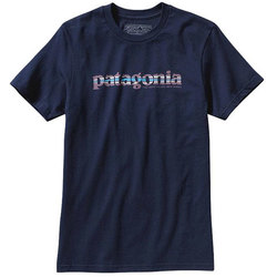 Patagonia 73 Text Logo Cotton Tee