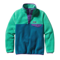 Patagonia Girls Lightweight Synchilla Snap-T Pullover - Kids