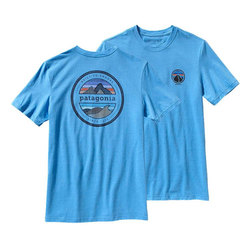 Patagonia Rivet Logo Cotton/Poly T Shirt