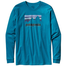 Patagonia Long Sleeved Shop Sticker Cotton T-Shirt