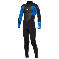 Quiksilver Syncro Kids 4/3mm Back Zip Fullsuit Wetsuit