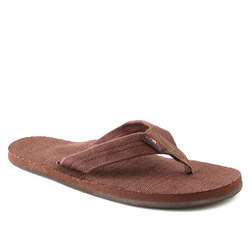 Rainbow Hemp Single Layer Eco Sandal