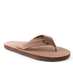 Rainbow Premier Leather Single Layer Sandal
