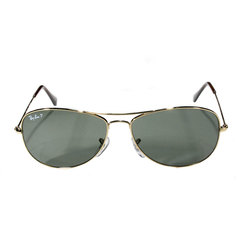 Ray-Ban Cockpit Aviator Polarized Sunglasses