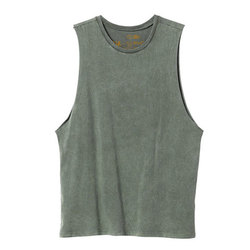RVCA Label Muscle Tank Top