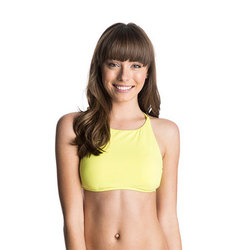 Roxy Girls Just Wanna Have Fun Crop Halter Top - Women's