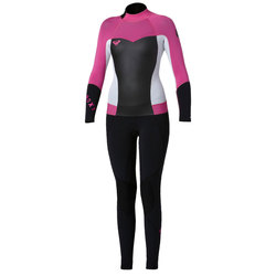 Roxy Syncro Girls 4/3mm Back Zip Wetsuit
