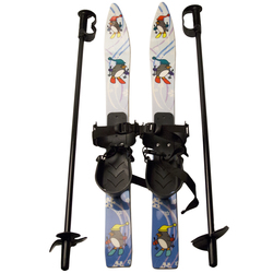 Little Racer Chaser Kid's Skis w/Bindings & Poles