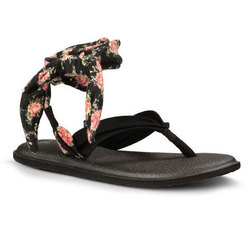 Sanuk Yoga Slinged Up Print Sandals - Women;'s