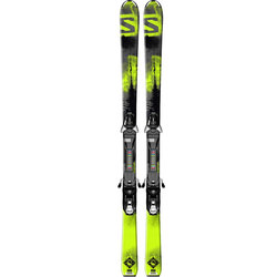 Salomon Q-Max Jr + EZY7 Skis - Junior's 2016
