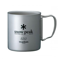 Snow Peak Titanium Double 450 Mug