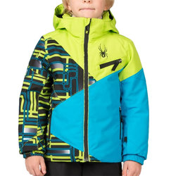 Spyder Little Boys' Mini Ambush Jacket - Kids