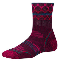 Smartwool PhD Outdoor Light Pattern Mid Crew Socks - Women's