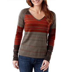Smartwool Sulawesi Stripe Pullover Sweater - Womens