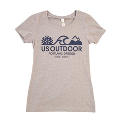US Outdoor Logo S/S T-Shirt - Women's