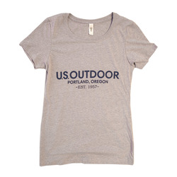 US Outdoor Text Logo S/S T-Shirt - Women's