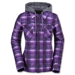Volcom Circle Flannel Jacket - Womens