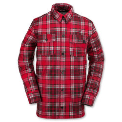 Volcom Drip Bonded Flannel Jacket - Mens