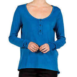 Volcom Lived In Overdyed Henley - Women's