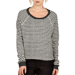 Volcom Lived In Stripe Crew - Women's