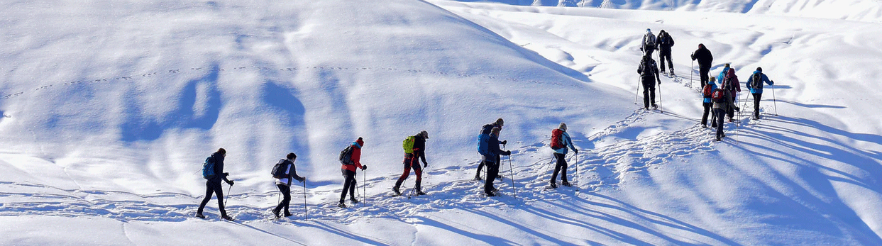 Rare Earth Snowshoeing