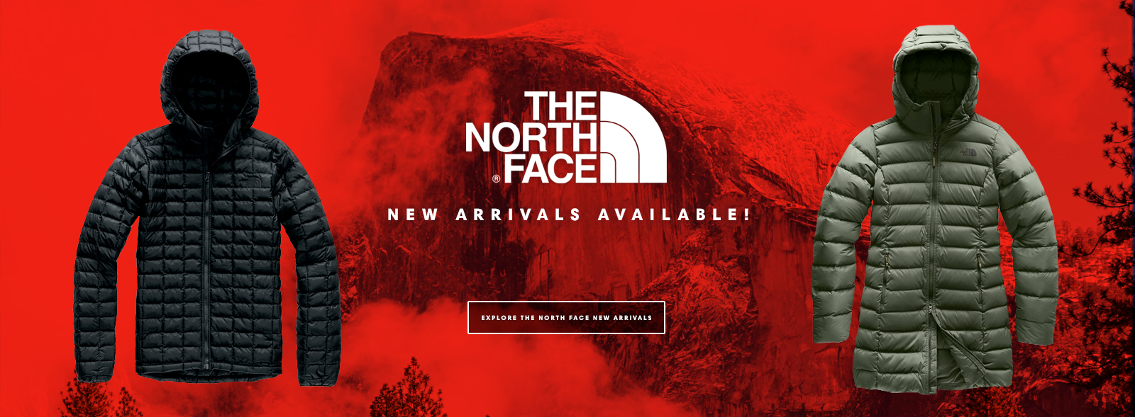 The North Face New Arrivals