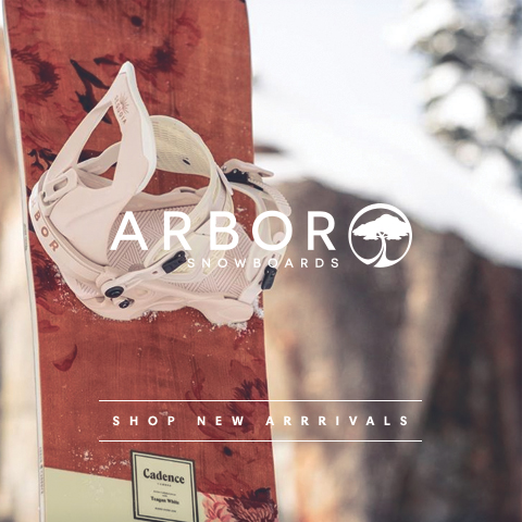 New winter arrivals from Arbor Snow