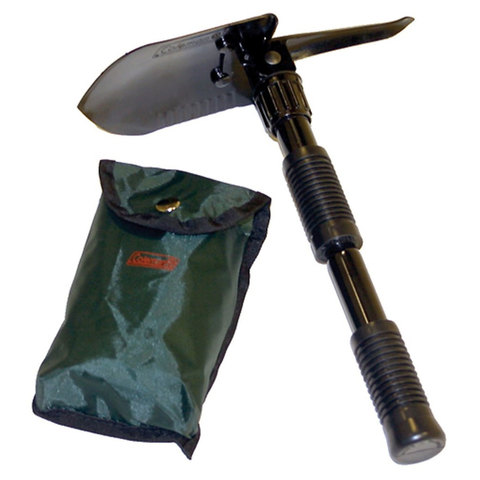 Coleman Folding Shovel with Pick