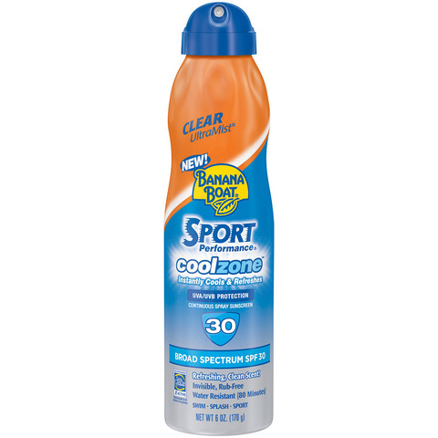 BANANA BOAT COOL ZONE SUNSCREEN