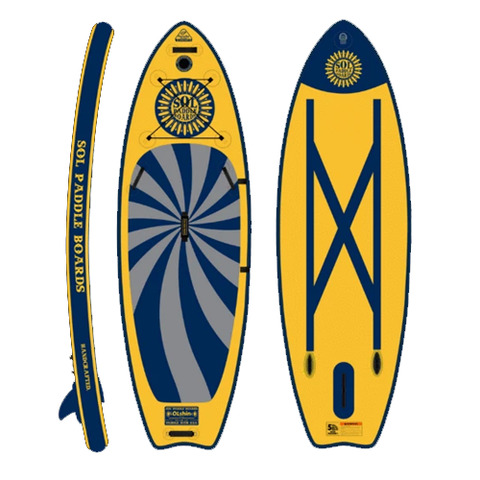 SolShine Inflatable Paddle Board - Galaxy