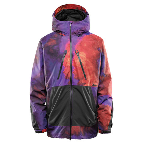 Thirtytwo Mullair Jacket Black/purple Lg