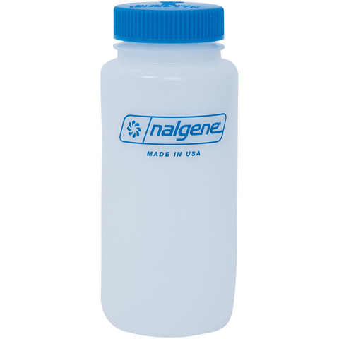 NALGENE WIDE MOUTH ROUND BOTTLES
