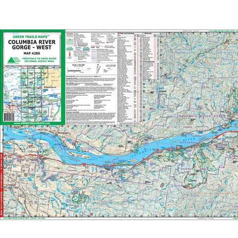 Green Trails Maps 428S: Columbia Gorge West
