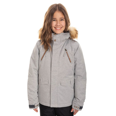 686 Ceremony Insulated Jacket - Girl's Stripe Txtr Xl