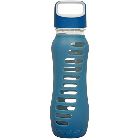 SURF 22 OZ GLASS WATER BOTTLE