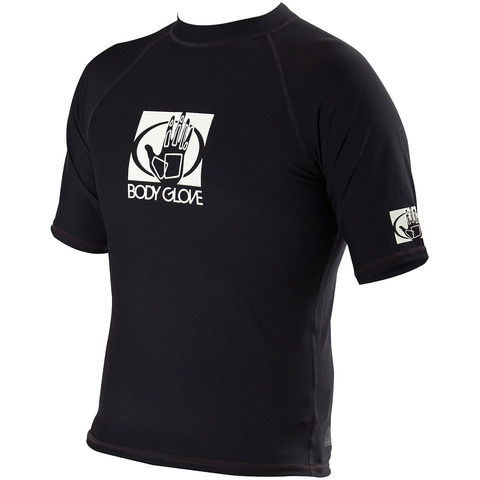 MEN'S SHORT SLEEVE FITTED RASH GUARD