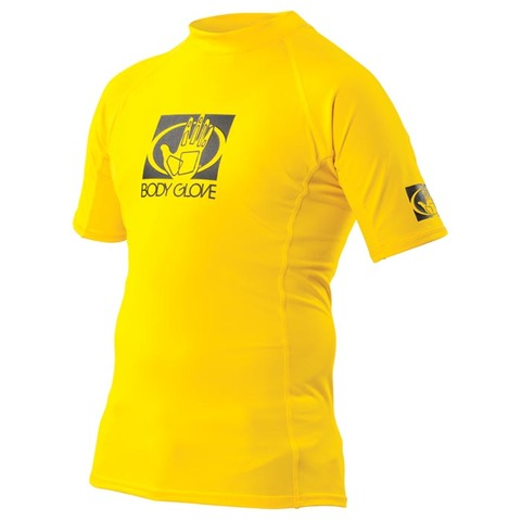 JUNIOR SHORT SLEEVE FITTED RASH GUARD
