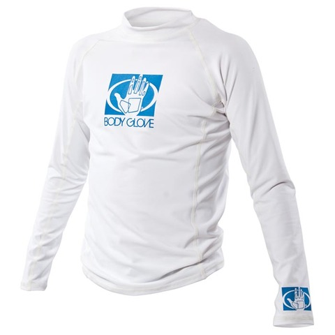 JUNIOR LONG SLEEVE FITTED RASH GUARD