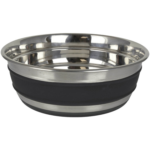 OURPETS STAINLESS STEEL CHALKBOARD BOWL